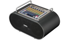 Novo Amplificador Portátil Sistema Som Korg Stageman 80