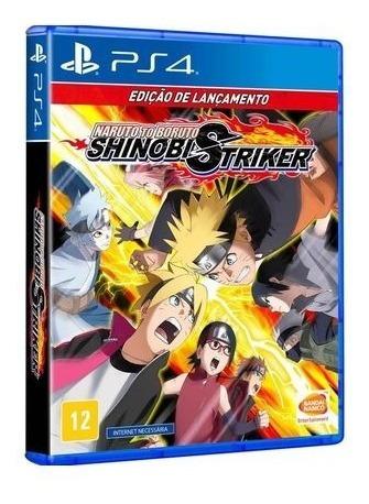Naruto To Boruto Shinobi Striker Ps4 Midia Física Lacrado