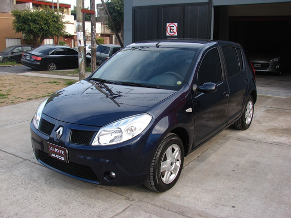 Renault Sandero Luxe 1.6 16v 5 Ptas Año 2008 Unico!!