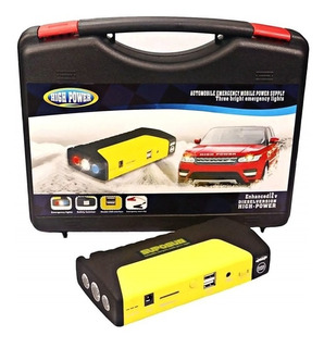 Partidor De Auto Batería + Kit Powerbank Cargador Celular