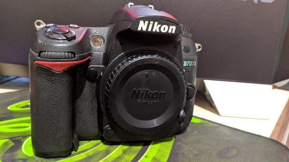 Câmera Dlsr Nikon D7000 Usada, Revisada, Apenas Corpo