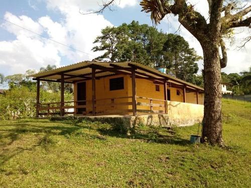 Imagem 1 de 15 de Chácara Na Mombaça Com Casa , Lago E Baias (contrato)