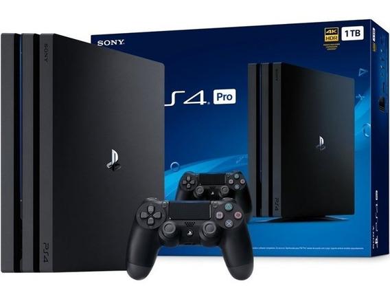 Playstation 4 Pro 7215b 1tb + Nota Fiscal+12 Meses Garantia