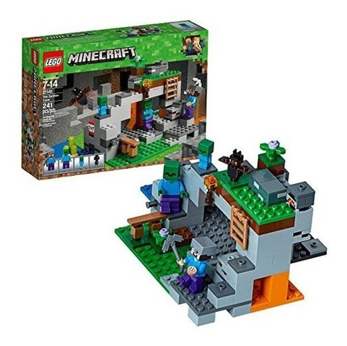 Juego Lego De Construcción  Minecraft The Zombie Cave