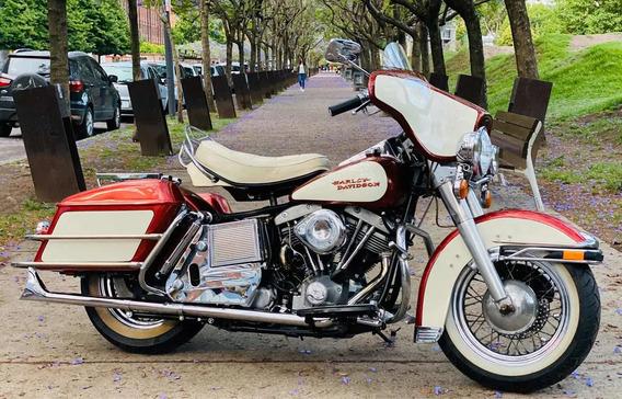1975 Harley Davidson Ultra Glide 1200 Como La De Elvis