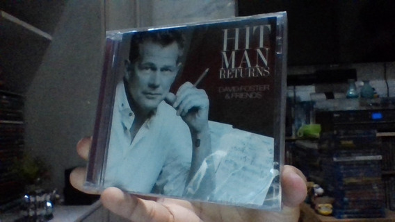 Cd + Dvd Hit Man Returns David Foster Lacrado Frete 10 R$
