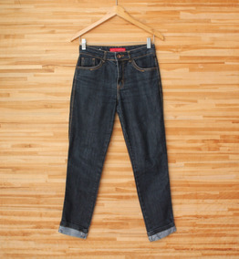 0b9b28265 Calças Feminino Tamanho 36 36 Azul escuro, Usado no Mercado Livre Brasil