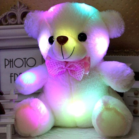 Urso Led 20-22cm Multi-cores Pronta Entrega No Brasil