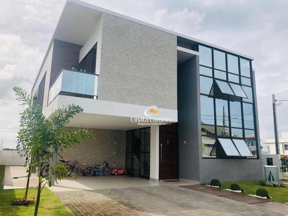 Casa Com 4 Dormitórios À Venda, 318 M² Por R$ 1.480.000 - Intermares - Cabedelo/pb - Ca0122