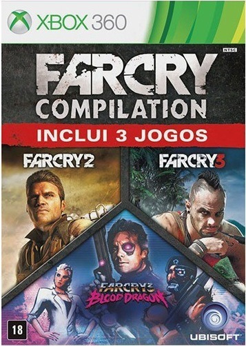 Jogo Farcry Compilation Xbox360 Ntsc Midia Fisica Original