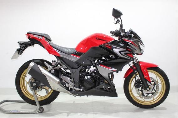 Kawasaki Z 300 Abs 2018 Vermelha