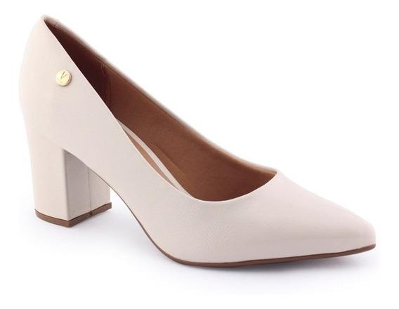 Sapato Scarpin Feminino 1290 400 Verniz Bico Afinado Vizzano