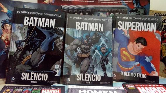 1 Revista Capa Dura Batman Superman Silêncio Homem Aranha