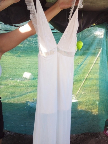 Vestido De Fiesta Blanco