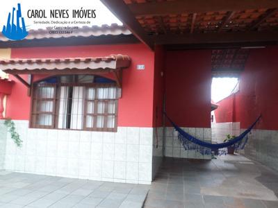 3356 - Casa 2 Dormitórios + Edícula 450 Metros Da Praia