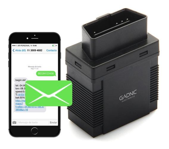 Rastreador Gps Localizador Tracker En Vivo Por Sms Gsm Obd2