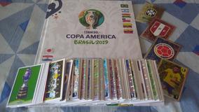 Álbum De Figurinhas Copa América 2019 (capa Dura) Completo !