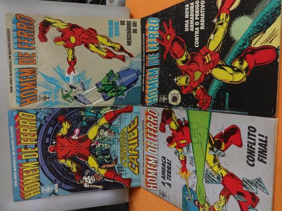 Coleção Homem De Ferro Completa 1988 Hq Gibi