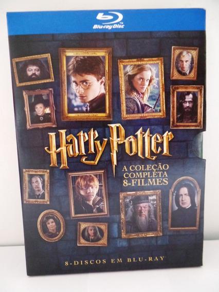 Box Blu-ray Harry Potter A Coleção Completa 8 Filmes Lacrado