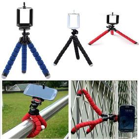 Mini Tripé Flexivel Celular Camera Promoção À Pronta Entrega