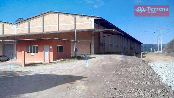 Galpão Industrial, Comercial Ou Para Depósito Com 3.500m² De Área Construída Em Gaspar - Ga0107