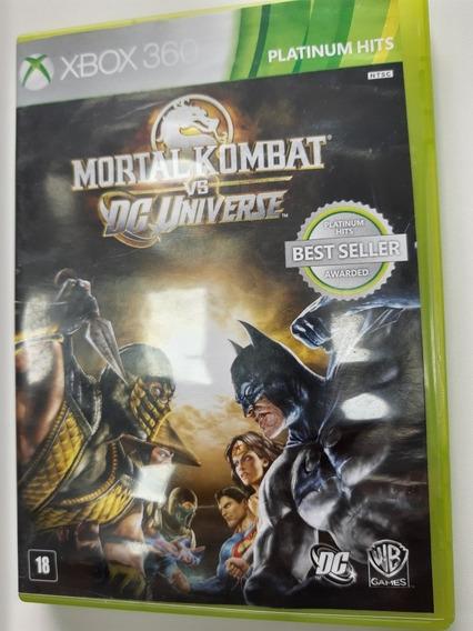Mortal Kombat Vc Dc Universe Xbox 360 Original Mídia Física
