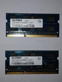 Memoria Ddr 3 Par 2gb 2x2gb Elpida Acer 5741 5698
