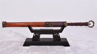 Espada Chinesa Treino Aço Dao Funcional Kung Fu Wushu Faith