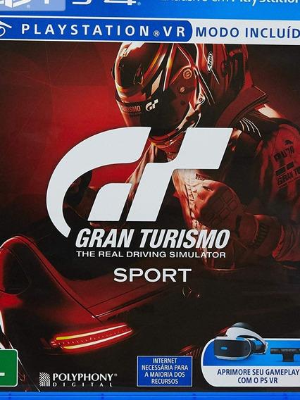 Gran Turismo Sport - Mídia Física.