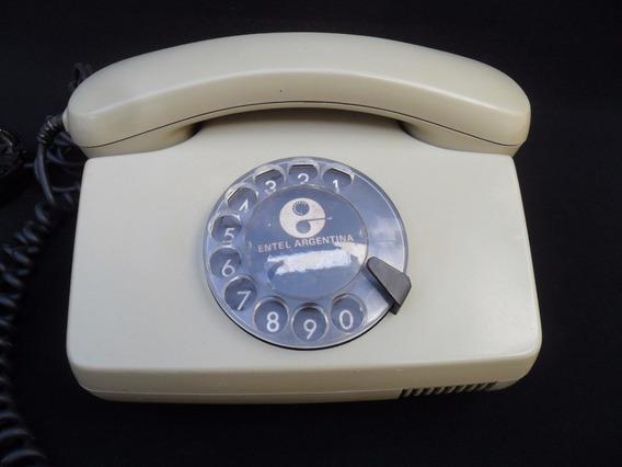 Antiguo Telefono Gris Retro Vintage Decoracion Entel Siemens
