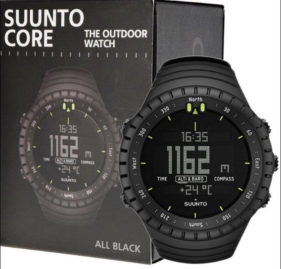 Reloj Suunto Core All Black Altimetro, Barometro , Brujula