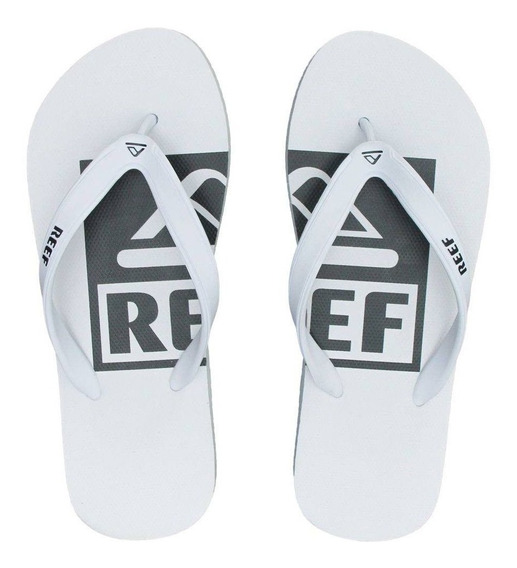 Chinelo Switchfoot Logo Camélia Ultra Resistente Reef