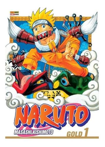 Naruto Gold 1 Editora Panini Naruto Gold Volume 01 Naruto 1