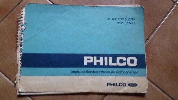Esquema Eletrico Tvs Philco P & B Cod 2705