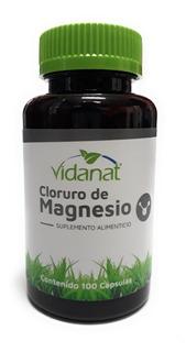 Cloruro De Magnesio 100 Capsulas Envio Full