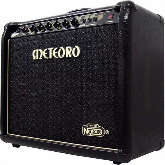 Amplificador Cubo Meteoro Nitrous Gs100 C/ Pedal Gs 100w ELG