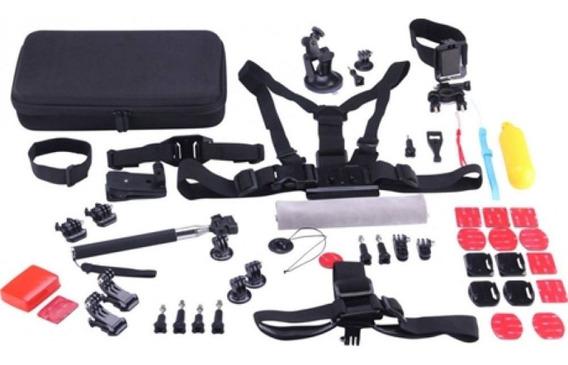 Kit 49 Peças Acessórios P/ Gopro Ou Câmeras De Ação Tmt-1102