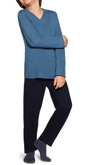 Pijama Infantil Calça Manga Comprida Algodão Lupo 20011