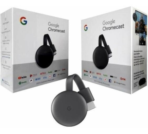 Google Chromecast 3, Convierta Su Tv Led En Smart Full Hd