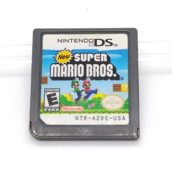 New Super Mario Bros Nintendo Ds Nds Midia Fisica 3ds 2ds