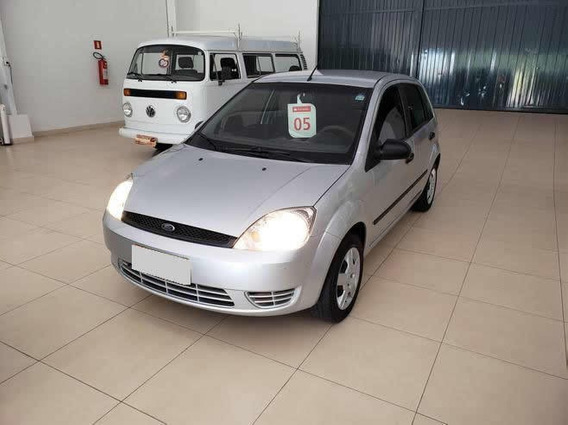 Ford Fiesta Cor Prata 1.0 Mpi 8v Gasolina 4p Manual