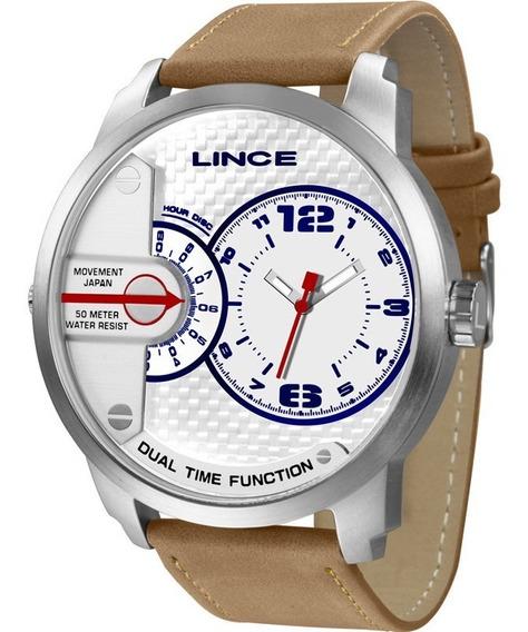 Relógio Lince Masculino Original Garantia Nota Mrch080sb2tx