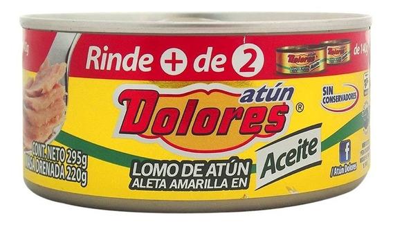 Atún Dolores Aleta Amarilla En Aceite 295 Gr