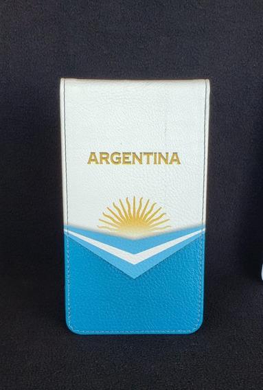 Porta Tarjeta Nacionales Con Diseño De Argentina - Buke Golf