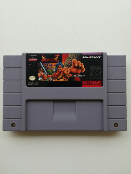 Breath Of Fire Super Nes Original Americano 100% Perfeito