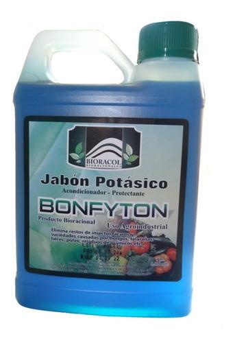 Insecticida Orgánico Jabón Potásico X1 Litro