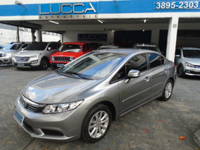 Civic 1.8 Lxs 2014 Cinza Flex
