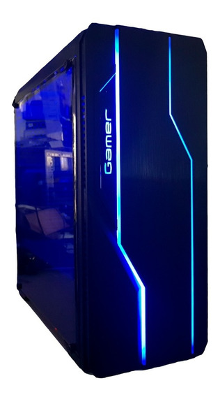 Cpu Gamer /core I5/ 8gb/ 1tb/ Gtx1050 4gb Ti/ Wifi/ Led/ Gab