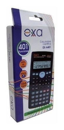 Calculadora Cientifica Exa 401 Funciones