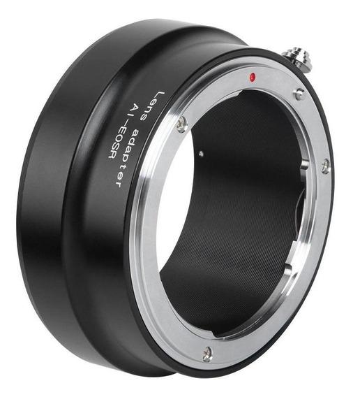 Ai-eosr Anel Adaptador De Lente Para Nikon Ai Para Canon R